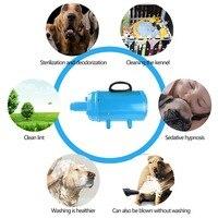 Shetland S19 Stepless Adjustable Speed Dog Grooming Dryer Cheap Pet Hair Dryer Blower 2200W EU/US Plug Black/Blue Color