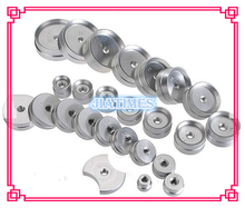 25pcs Aluminum Alloy Moulds for Watch Back Case Press software Glass Crystal Presser