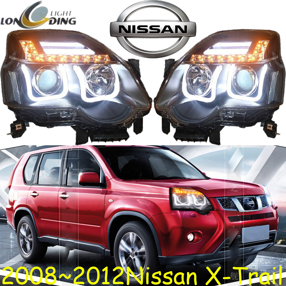 X-Trail headlight,2008~2013,(LHD,If RHD need add 200USD),Free ship! X-Trail fog light,2ps/se+2pcs Ballast,X Trail,Xtrail cadilla srx headlight 2011 2015 fit for lhd if rhd need add 300usd free ship srx fog light 2ps set 2pcs ballast srx