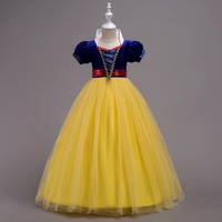Children Girl Snow White Dress Girls Prom Princess Dress Kids Baby Gifts Intant Party Clothes Fancy Party Clothing Y
