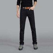 Business stil kleid jeans gute qualität baumwolle herren-jeans mode geschäfts jeans männer nehmen gerade männer jeans #306
