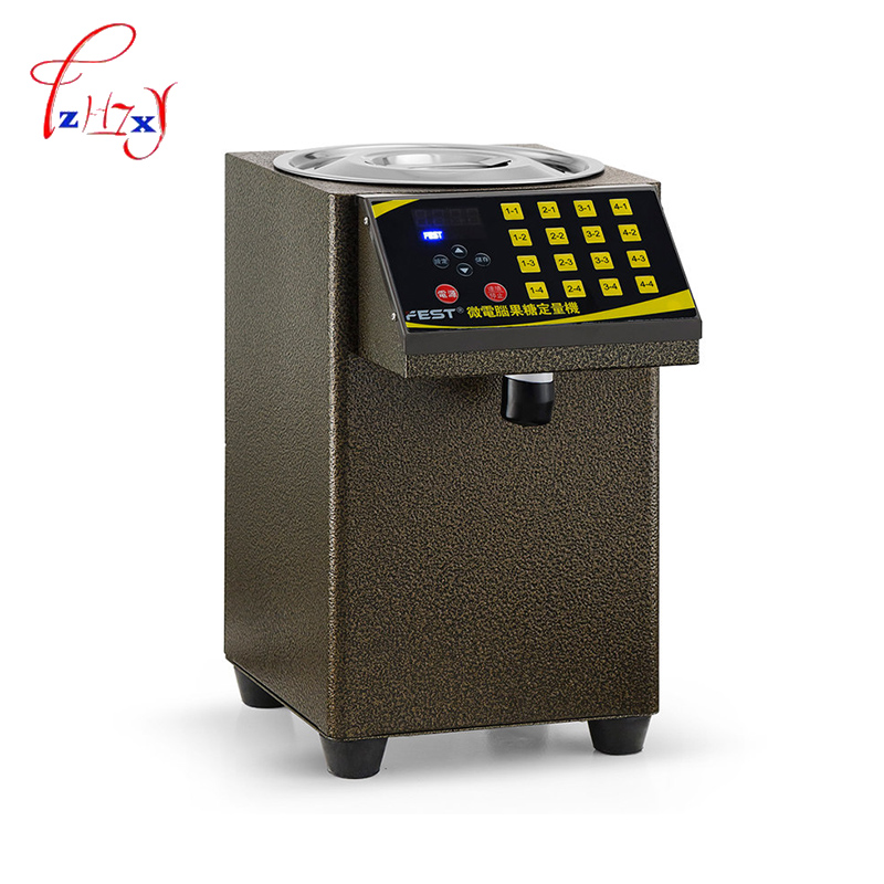 все цены на Fructose machine 16 grid Fructose Quantitative machine Automatic Fructose Dispenser Syrup dispenser for coffee/Bubble tea 1pc онлайн