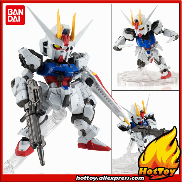100% Original BANDAI Tamashii Nations NXEDGE STYLE Action Figure - Aile Strike Gundam original bandai tamashii nations robot spirits exclusive action figure rick dom char s custom model ver a n i m e gundam