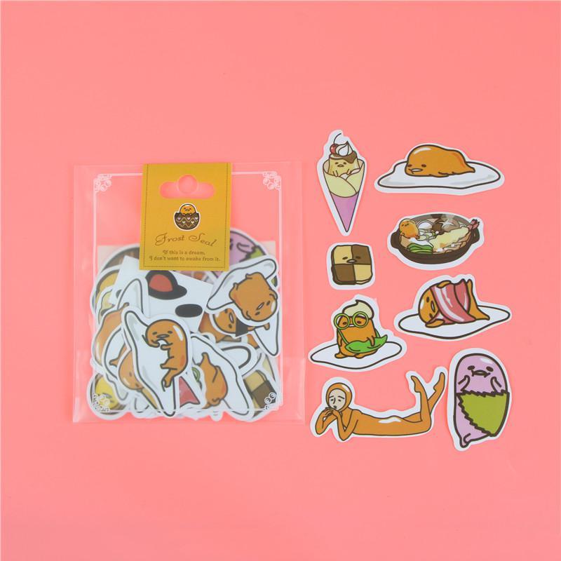 1 пакет, милые Мультяшные декоративные наклейки в Корейском стиле, клейкие наклейки, скрапбукинг, сделай сам, декоративные наклейки для дневника - Цвет: C