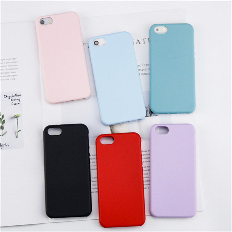 Candy Coque For Apple iphone 5 5S Case For iphone SE Case Fashion Shockproof Soft TPU Silicone Phone Original Protective Cover