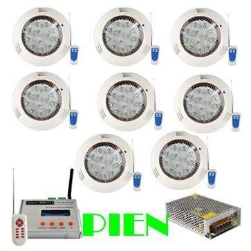 Здесь можно купить  Synchronous RGB Swimming led pool light 36W DMX underwater light wall mount IP68 +DMX Controller + 12V Power adapter by DHL 8pcs Synchronous RGB Swimming led pool light 36W DMX underwater light wall mount IP68 +DMX Controller + 12V Power adapter by DHL 8pcs Строительство и Недвижимость