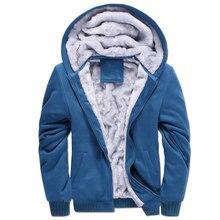 European Fashion Bomber Mens Vintage Thickening Fleece Jacket Autumn Winter Designer Famous Brand Male Slim Fit Warm Coat 2017