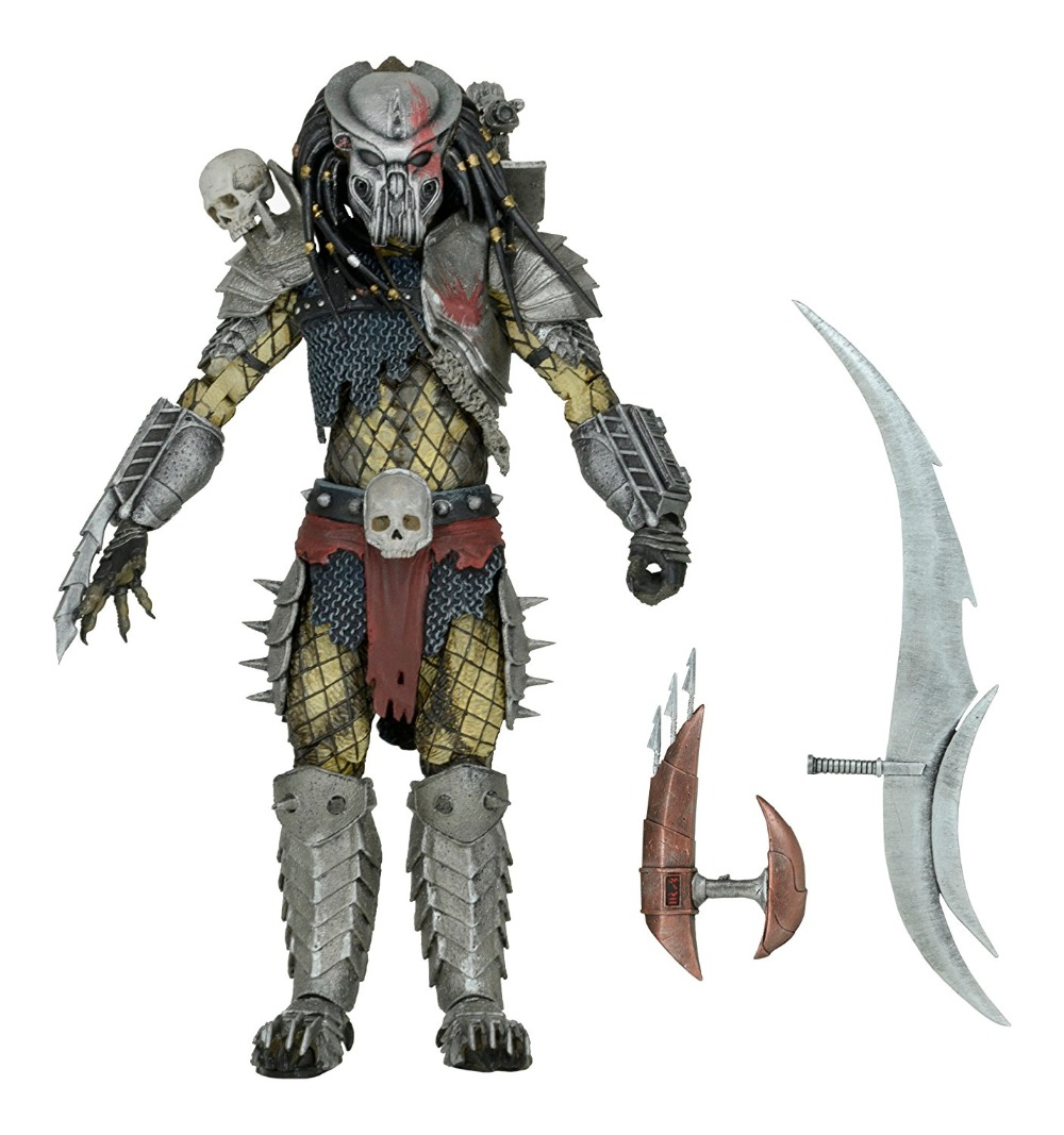 NECA Predators Scarface PVC Action Figure Collectible Model Toy 21cm neca heroes of the storm dominion ghost nova pvc action figure collectible model toy 15cm