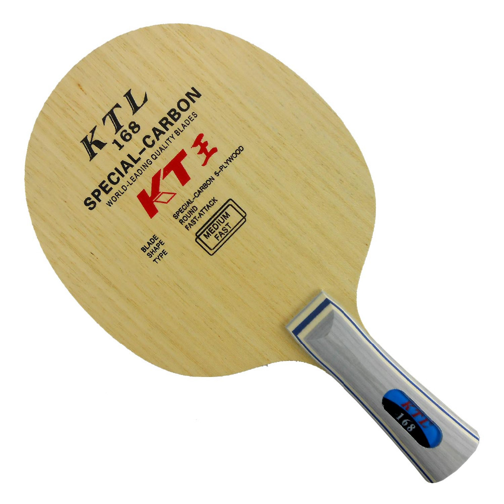 KTL Special-Carbon L 168 Fast-Attack Long Shakehand FL Table Tennis Blade for PingPong Racket avalox tb525 tb 525 tb 525 shakehand table tennis pingpong blade