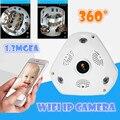 Inalámbrica WIFI HD de 1.3MP Onvif P2P HD 960 P domo IP cámara de 360 grados de rotación hd Cámara de Visión Nocturna de Seguridad v380