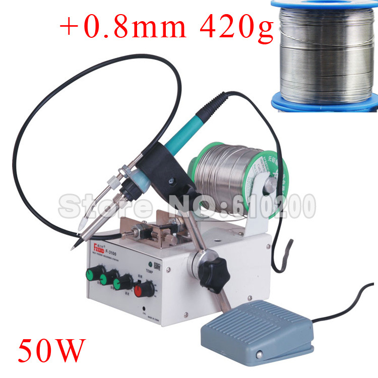 Multifunction Automatically send tin system Pedal Control Constant temperature Electric soldering iron Soldering station цены