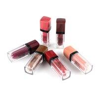 12色マットリップスティック防水リップグロスメイク口紅化粧品美容メイク中国卸売メイク