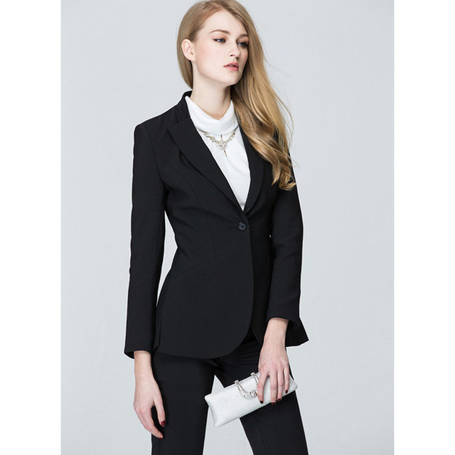 Pantalones Mujer Spring And Autumn Plus Size Ladies Business Suits Custom  Made Women Fashion Office Wear Work Professional 1307323a5feb