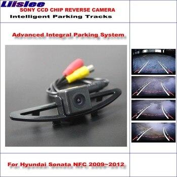 Liislee Intelligent Parking Tracks Car Rear Camera For Hyundai Sonata NFC 2009~2012 Backup Reverse / NTSC RCA AUX HD SONY