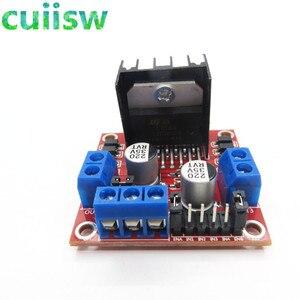 Image 3 - 10pcs/lot New Dual H Bridge DC Stepper Motor Drive Controller Board Module L298N for arduino