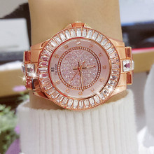 2019 Lovers' Watches Creative Women Watches Bracelet Stainless Steel Diamond Crystal Dial Qaurtz Ladies Watch relogio feminino цена и фото