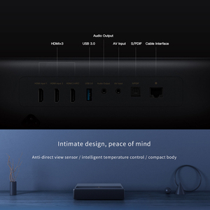 Image 5 - Original Xiaomi Mijia Laser Projection TV 4K Home Theater 200 Inch Wifi 2G RAM 16G English Interface Support HDR DOLBY DTS
