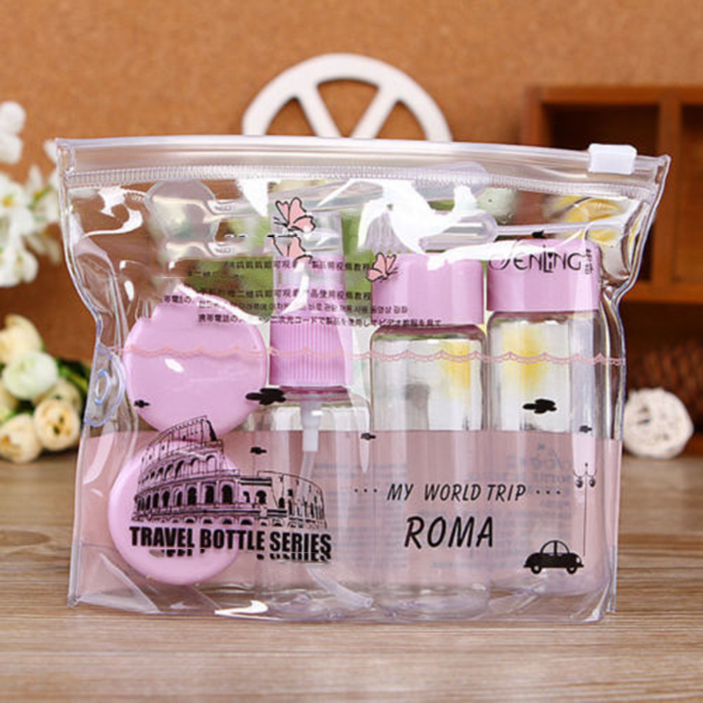 Cosmetic-Storage-Bottle Travel-Accessories Bathroom Cmpty Useful 7pcs/Set