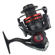 13+1BB axis Curved Metal Wire Cup and CNC Rocker Arm Spinning Wheel Reel Fishing Equipment