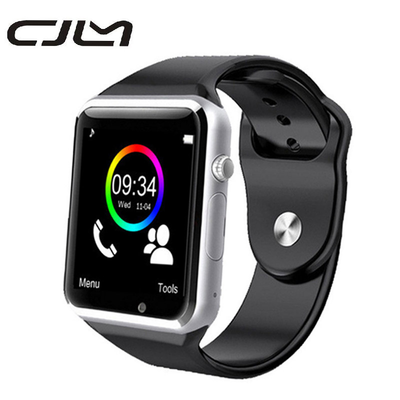 Smartwatch A1 Smart Watch With Camera Bluetooth Pedometer Sleep Tracker Smart Watches For Android Smartphone PK DZ09 GT08
