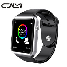 SmartWatch A1 Смарт часы с Камера Bluetooth Шагомер трекер сна Умные часы для Android-смартфон PK DZ09 GT08
