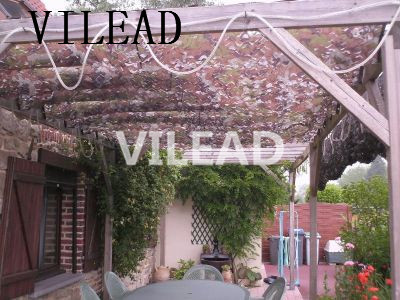 VILEAD 2M*4M Desert Military Camo Camouflage Net Netting Woodland Sun Shelter Camouflage Net for Cover Car Drop Bird Observation