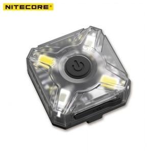 Image 3 - Linterna frontal NITECORE, recargable por USB, NU05, KIT de 35 lúmenes, luz blanca/roja, alto rendimiento, 4 leds, ligero, portátil