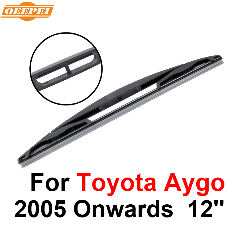 Glasses & Windows Automobiles & Motorcycles Qeepei Rear Windscreen Wiper No Arm For Toyota Aygo 2005 Onwards 12 3/5 Door Hatchback High Quality Iso9001 Natural Rubber Discounts Price
