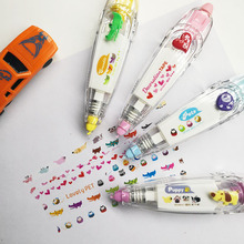 Korea Creative Correction Tape Sticker Cute Cartoon Book Decorative Student Supply Novelty Office School Supplies cheap 11cm*2 7cm*0 01mm umfinger Plastic catoon 3 years old