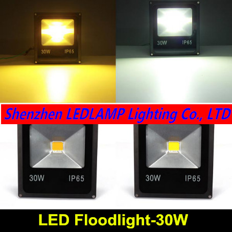 Refletor LED Flood Light 30W 85~265V waterproof IP65 foco projecteur COB Led Floodlight Outdoor Lighting Spotlight lexing lx tgd 5 30w 1900lm 7000k led white spotlight w stand black silver grey 85 265v