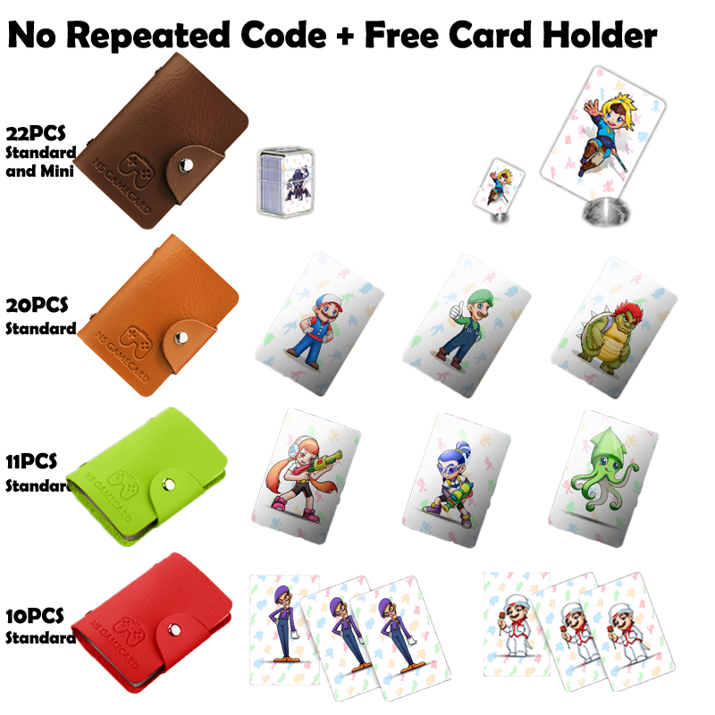 NTAG215 Printed NFC Card Written by Tagmo Can Work For Switch Latest Data Full SET 11 pieces splatoon 2 full set nfc card neon purple inkling squid boy and girl sisters callie and marie for switch ns