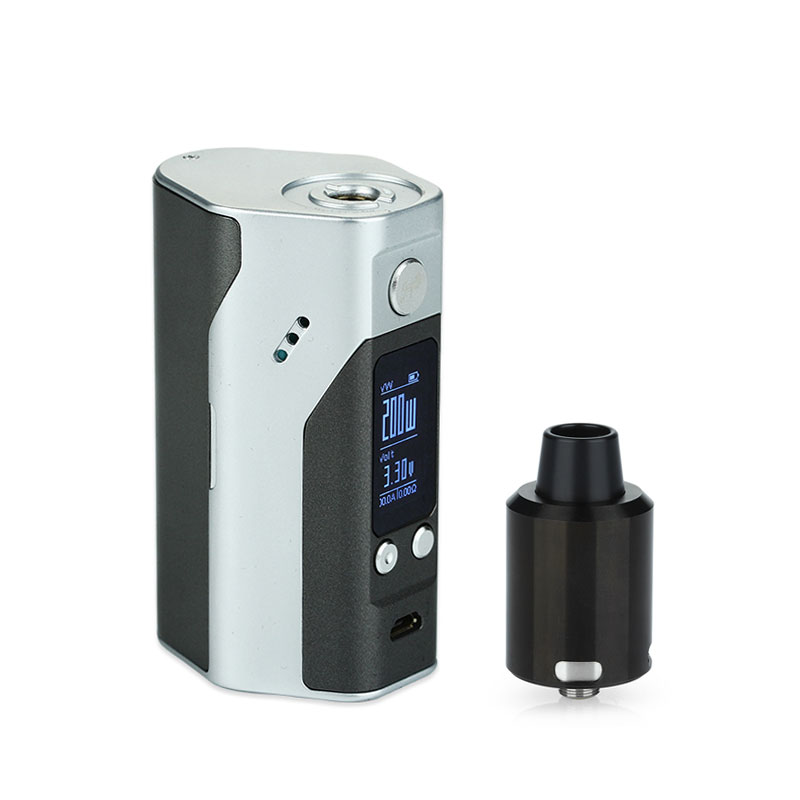 Original WISMEC Reuleaux RX200S for GeekVape Tsunami 24 RDA Atomizer Starter Kit Electronic Cig for 510 Without 18650 Battery tsunami