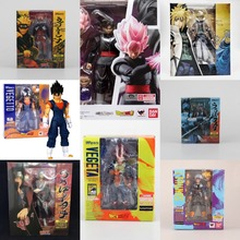 Dragon Ball Z Naruto Barman Spiderman Action Figure SHF Vegeta Trunks Goku  Vegetto Uzumaki Naruto Modelo 0a8ed5f651acd