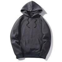 Brand Hip Hop Hoodies Coat Solid Autumn Good Quality Mens Hoodie Sweatshirt Pullover Fashion Sportswear Spring