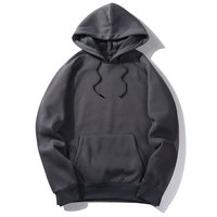 Brand Hip Hop Hoodies Coat Solid Autumn Good Quality Mens Hoodie Sweatshirt Pullover Fashion Sportswear Spring Outerwear EUR Siz
