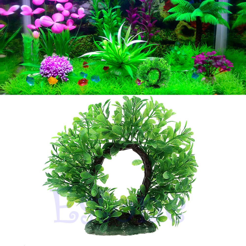 China aquarium fish tank price - Curve Green Artificial Plastic Water Plant Ornament Aquarium Fish Tank Ornament China Mainland