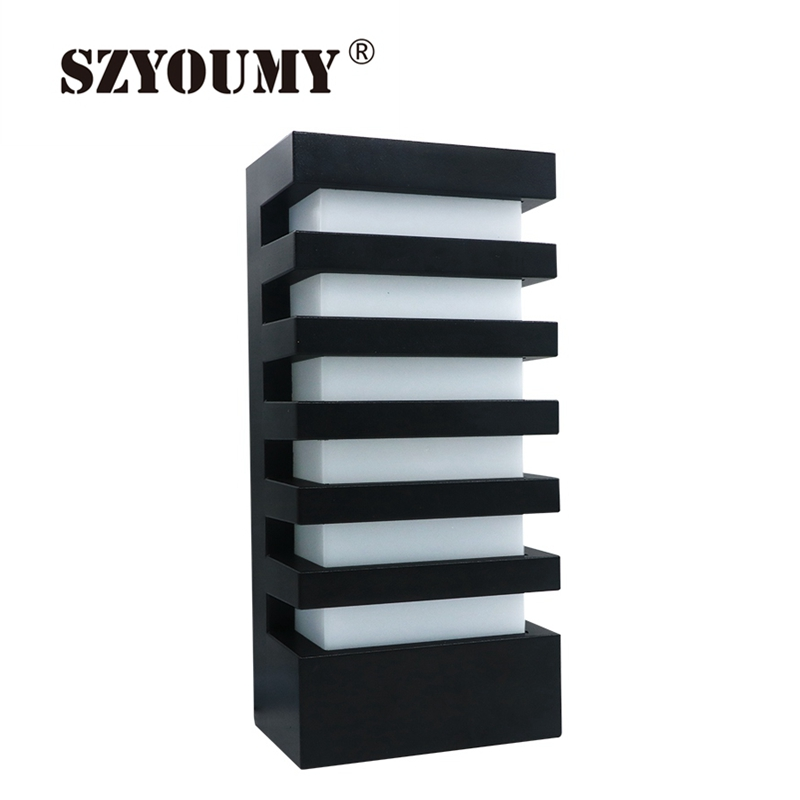 Szyoumy Led Wall Lamp Modern Aluminum Cob 15w Light Ip65 Waterproof Wall Sconce Outdoor Wall Fixture White/warm White Dhl Led Indoor Wall Lamps Back To Search Resultslights & Lighting