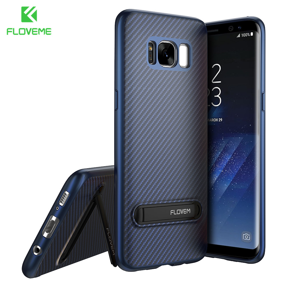 floveme luxury phone case for samsung s8 s7 edge s9 case kickstand phone cover for samsung. Black Bedroom Furniture Sets. Home Design Ideas