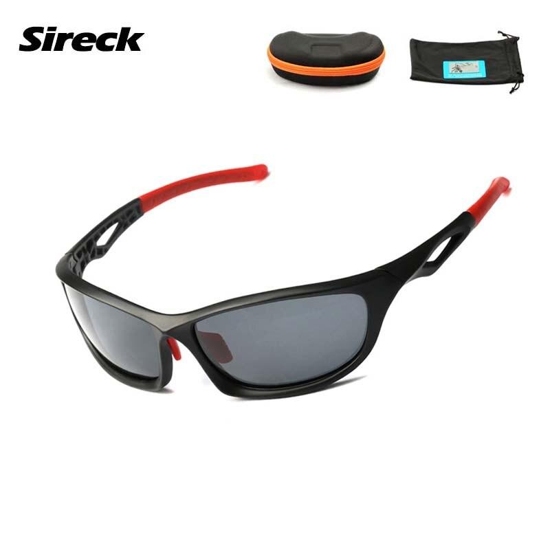 18b3f4c7acf99 Sireck Prova Pro Bicicleta Ciclismo Óculos 2017 UV400 Polarizada Óculos De  Condução De Pesca Escalada Bicicleta óculos de Sol Oculos Ciclismo