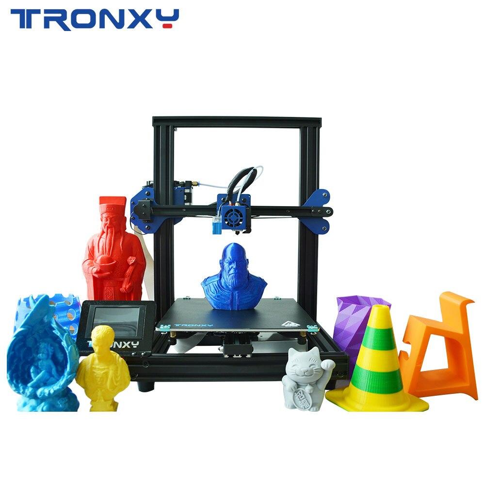 Prévente nouvelle mise à niveau Tronxy XY-2 Pro assemblage rapide imprimante 3D nivellement automatique Continuation impression Filament capteur 3.5 ''touch