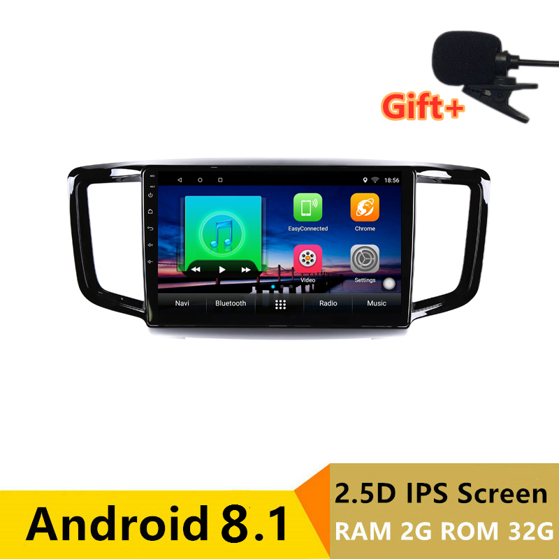 "10"" 2+32G 2.5D IPS Android 8.1 Car DVD Multimedia Player GPS For Honda Odyssey 2015 2016 2017 audio car radio stereo navigation"