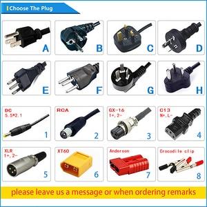 Image 5 - Chargeur intelligent de batterie de Li ion du chargeur 72 V 3A de 84 V utilisé pour la batterie de Li ion de 20 S 72 V haute puissance avec le boîtier en aluminium de ventilateur