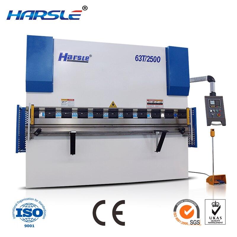 WC67Y sheet metal folder cnc mini press brake machine