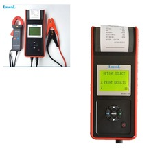 Hot selling Auto Truck Motor Diagnostic Tool Digital  Car Battery tester Analyzer Kit MICRO-768A with printer