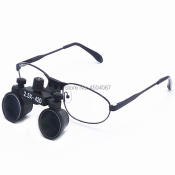 High Quality New Metal Frame Medical Loupes 2.5X Binocular Magnifier Medical Dental Surgical Loupes