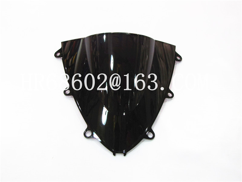 Honda CBR 1000 RR 2008 2009 2010 2011 Қара шыныдан жасалған WindScreen Double Bubble cbr 1000 RR CBR1000 cbr1000 rr CBR1000RR