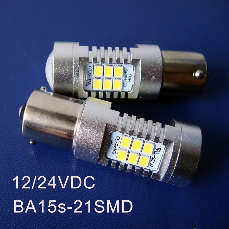 High quality 10W 12/24VDC BA15s BAU15s PY21W P21W 1141 1156 Car Led Rear light,Turn Signal,Reverse Light free shipping 2pcs/lot
