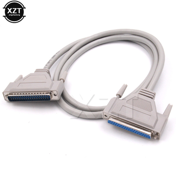 Wysokiej jakości 1 M DB37 37Pin męski na żeński M/M Port szeregowy przedłużyć danych kabel kabel do drukarki