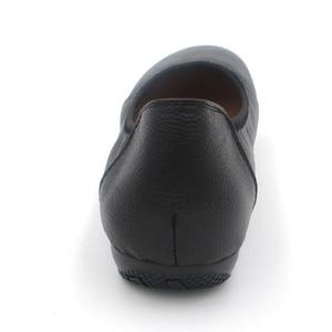 Image 5 - BEYARNE Genuine Leather Women Flats,Fashion Black Pointed Toe Ladies Ballet Flats,Brand Designer Ballerina Woman Flats Shoes