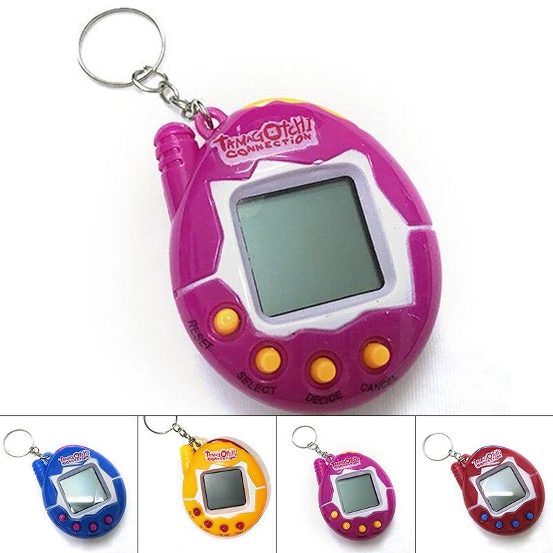cute plastic Cyber Digital Virtual Tamagotch Game In One Virtual Cyber Pets Toy